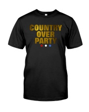 Country Over Party Classic T-Shirt front