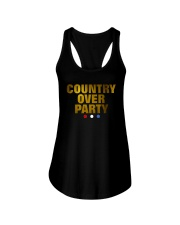 Country Over Party Ladies Flowy Tank thumbnail