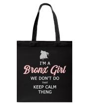 Bronx Girl Tote Bag thumbnail
