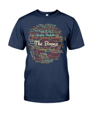 The Bronx Word Cloud - Final Version Classic T-Shirt front