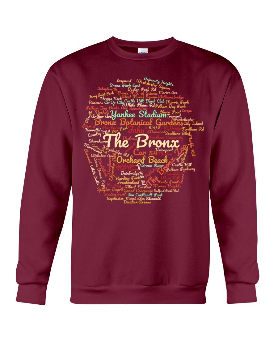 The Bronx Word Cloud - Final Version Crewneck Sweatshirt