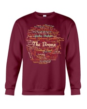 The Bronx Word Cloud - Final Version Crewneck Sweatshirt front