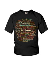 The Bronx Word Cloud - Final Version Youth T-Shirt thumbnail