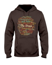 The Bronx Word Cloud - Final Version Hooded Sweatshirt front