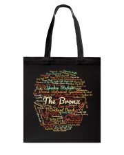 The Bronx Word Cloud - Final Version Tote Bag thumbnail