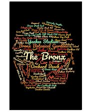 The Bronx Word Cloud - Final Version Vertical Poster tile