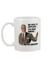 NO NEED TO APPLAUD - QUEENS Mug back