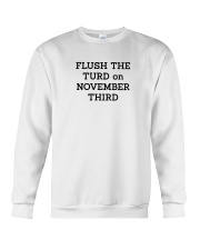 FLUSH THE TURD Crewneck Sweatshirt thumbnail