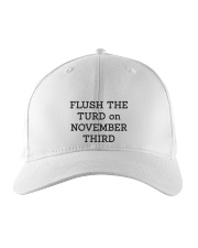 FLUSH THE TURD Embroidered Hat front