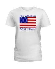 PRO-AMERICA Ladies T-Shirt thumbnail