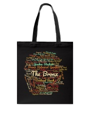 The Bronx Word Cloud Tote Bag thumbnail