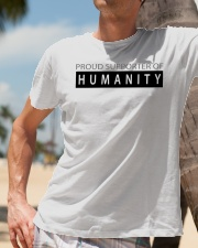 PROUD SUPPORTER OF HUMANITY Classic T-Shirt lifestyle-mens-crewneck-front-11
