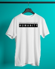 PROUD SUPPORTER OF HUMANITY Classic T-Shirt lifestyle-mens-crewneck-front-3