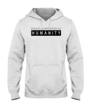 PROUD SUPPORTER OF HUMANITY Hooded Sweatshirt thumbnail