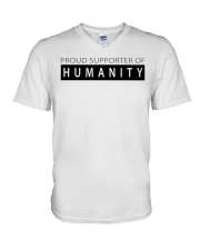 PROUD SUPPORTER OF HUMANITY V-Neck T-Shirt thumbnail