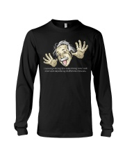 EINSTEIN - INSANITY Long Sleeve Tee thumbnail