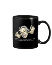 EINSTEIN - INSANITY Mug tile