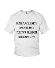 BIRTHPLACE EARTH Youth T-Shirt thumbnail