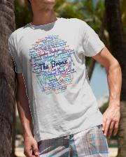 Bronx Wordcloud for Light Colors Classic T-Shirt lifestyle-mens-crewneck-front-10