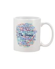Bronx Wordcloud for Light Colors Mug thumbnail