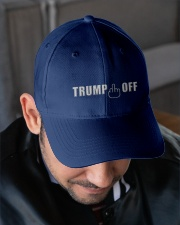 TRUMP OFF Embroidered Hat garment-embroidery-hat-lifestyle-02