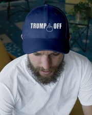 TRUMP OFF Embroidered Hat garment-embroidery-hat-lifestyle-06