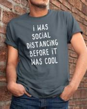 SOCIAL DISTANCING Classic T-Shirt apparel-classic-tshirt-lifestyle-26