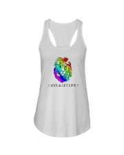 Live and Let Live PRIDE Ladies Flowy Tank thumbnail