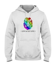 Live and Let Live PRIDE Hooded Sweatshirt thumbnail