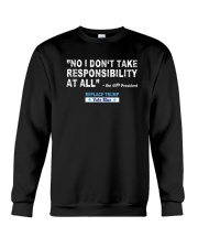 NO RESPONSIBILITY Crewneck Sweatshirt thumbnail