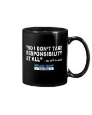 NO RESPONSIBILITY Mug thumbnail