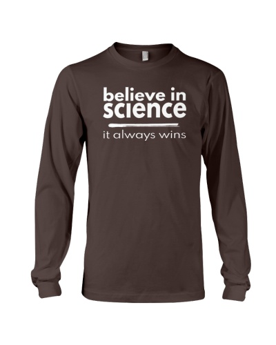 believe in science