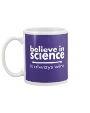 believe in science Mug back