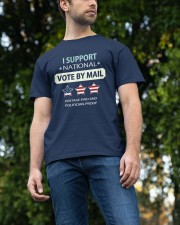 VOTE BY MAIL Classic T-Shirt apparel-classic-tshirt-lifestyle-front-47