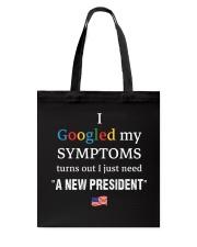 SYMPTOMS Tote Bag thumbnail