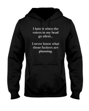 Voices Hooded Sweatshirt front