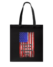 FLUSH THE TURD - FLAG VERSION Tote Bag thumbnail