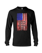 FLUSH THE TURD - FLAG VERSION Long Sleeve Tee thumbnail