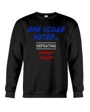 ONE ISSUE VOTER Crewneck Sweatshirt thumbnail