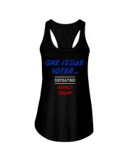 ONE ISSUE VOTER Ladies Flowy Tank thumbnail