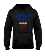 ONE ISSUE VOTER Hooded Sweatshirt thumbnail