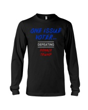 ONE ISSUE VOTER Long Sleeve Tee thumbnail