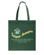 Science Avengers Tote Bag thumbnail