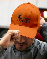The Tower Embroidered Hat garment-embroidery-hat-lifestyle-01