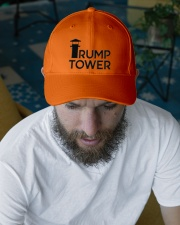 The Tower Embroidered Hat garment-embroidery-hat-lifestyle-06