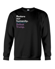 Restore our humanity Crewneck Sweatshirt thumbnail