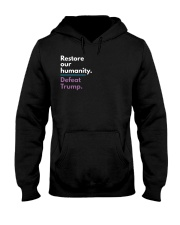 Restore our humanity Hooded Sweatshirt thumbnail