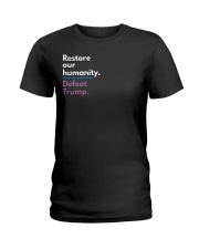 Restore our humanity Ladies T-Shirt thumbnail
