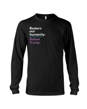Restore our humanity Long Sleeve Tee thumbnail
