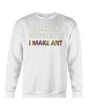 I MAKE A DIFFERENCE Crewneck Sweatshirt thumbnail